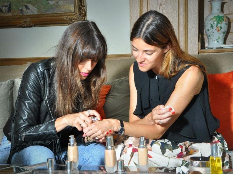 Giorgia Chiampan e Violette Serrat la mer (3)