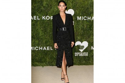 LILY-ALDRIDGE in michael kors