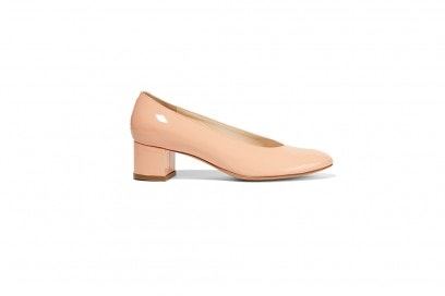 MANSUR GAVRIEL Ballerina patent-leather pumps_NET