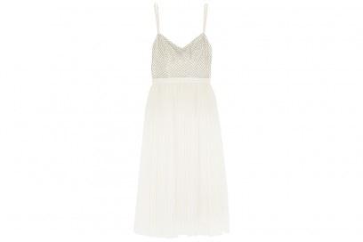NEEDLE & THREAD Coppelia embellished gauze and tulle midi dress_NET