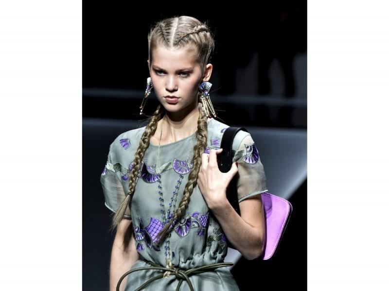 PFW-beauty-trend-ss-17-emporio-armani-braids