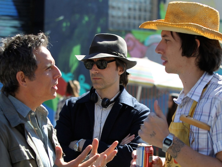 """Celebrities On The Set of """"While We Were Young"""" In New York City – September 24, 2013"""