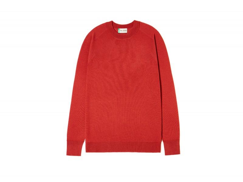 benetton-maglione-rosso