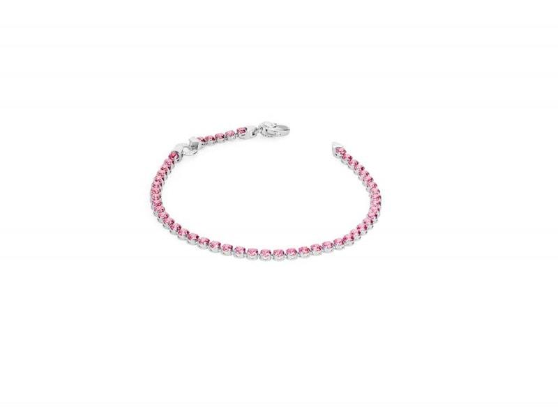bracciale-tennis-rosato