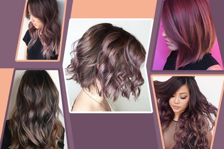 Chocolate Mauve: il nuovo trend colore per capelli scuri
