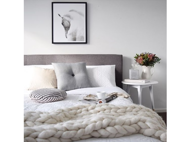 chunky knit blanket 4