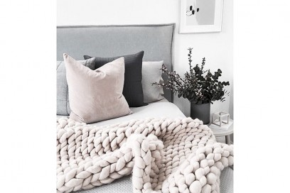 chunky knit blanket 7