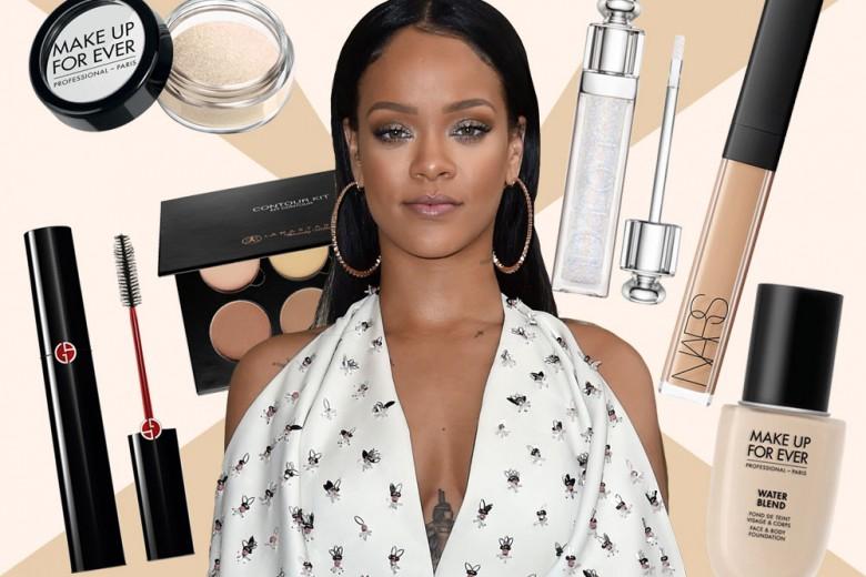 Copia il trucco nude glamour di Rihanna