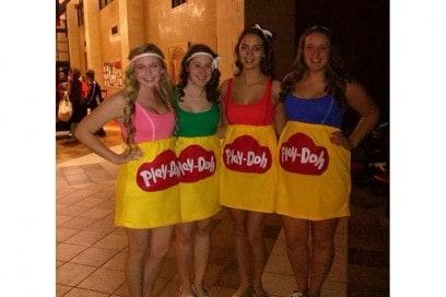 costume play doh