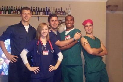 costume scrubs