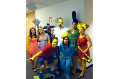 costume simpsons