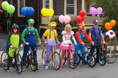 costume super mario friends