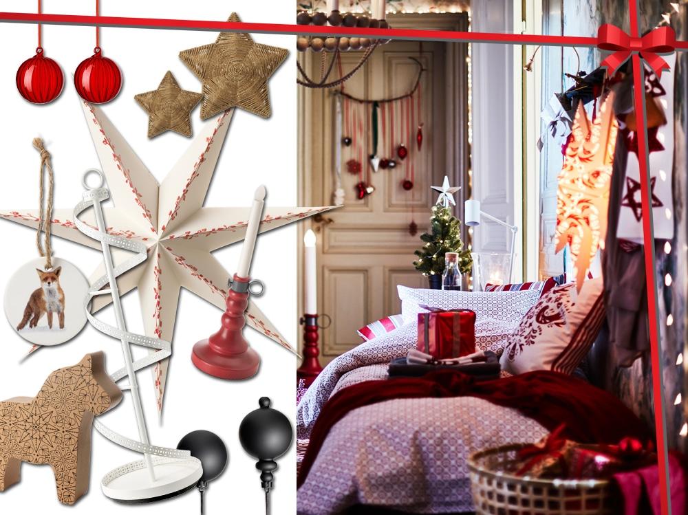 Ikea addobbi natalizi stunning e calici in vetro ikea posate in argento vasetti yogurt - Vasetti vetro ikea ...