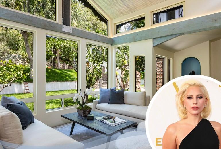 La nuova eccentrica casa di Lady Gaga a Hollywood Hills
