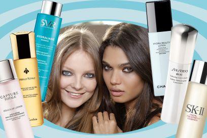 Lozione viso: le beauty essence, il nuovo trend di skin care liquida