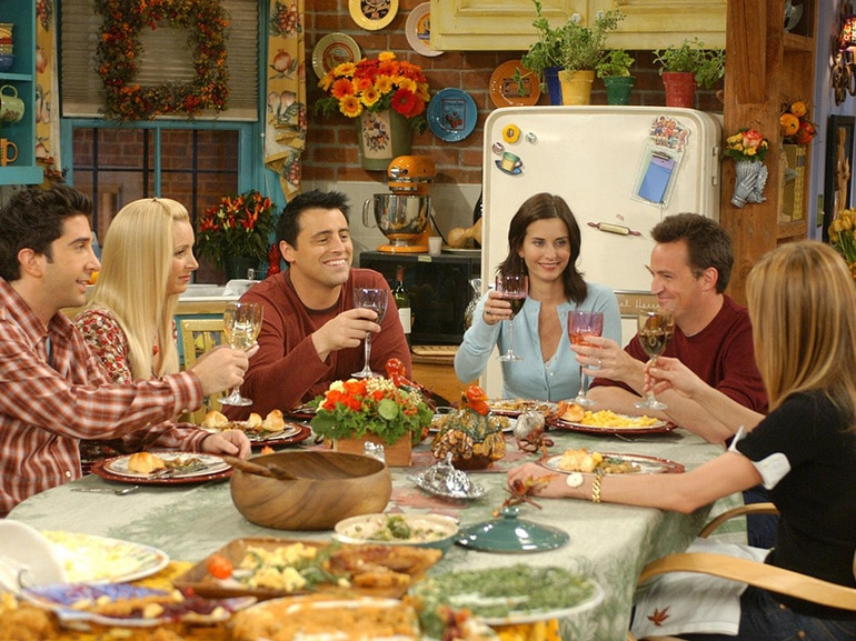 friends cena ringraziamento