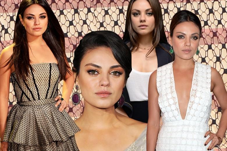 Mila Kunis: i make up più belli della moglie di Ashton Kutcher