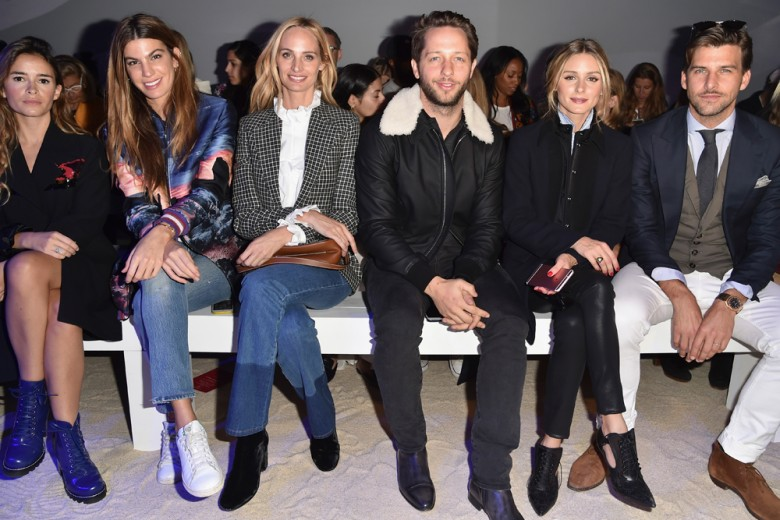 Le star in front row alla Paris Fashion Week