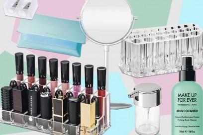 Postazione make up: i migliori accessori per organizzarla