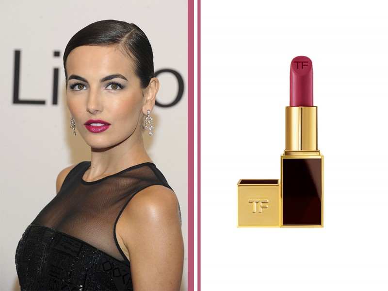 rossetto-fucsia-star-Camilla-Belle-Fuchsia-red-tom-ford-lip-color-showgirl