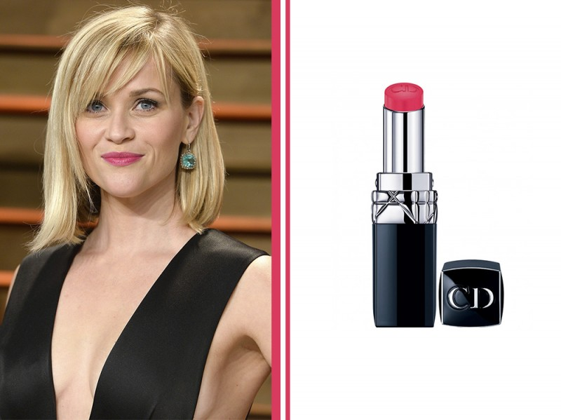 rossetto-fucsia-star-Reese-Witherspoon-Fuchsia-Balm-Lipstick-rouge-dior-baume-rose-rose