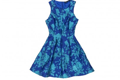 silvian-heach-abito-blu-fiori