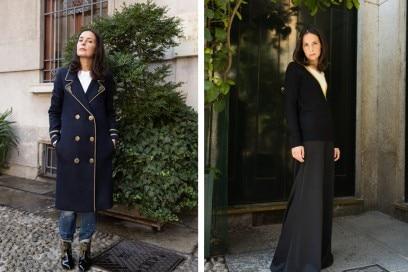 Michela Meni interpreta la nuova collezione di Silvian Heach