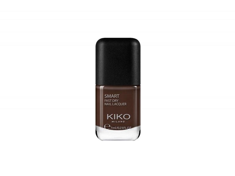 smalto marrone cioccolato kiko cosmetics