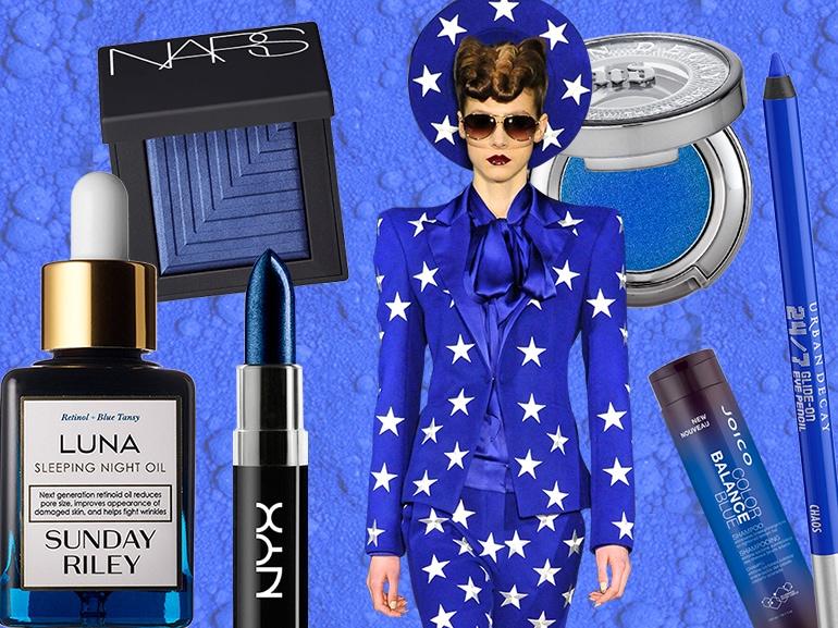 trucco blu elettrico collage_mobile