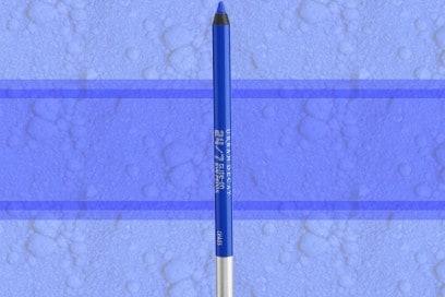 trucco blu elettrico matita occhi urban decay