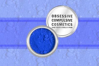 trucco blu elettrico pigmento occ royal blue