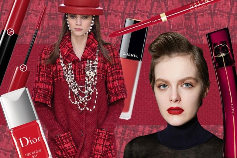 Trucco rosso: i prodotti beauty del colore della passione da provare adesso