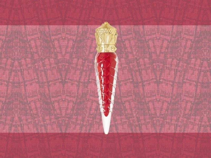trucco rosso lip gloss loboutin