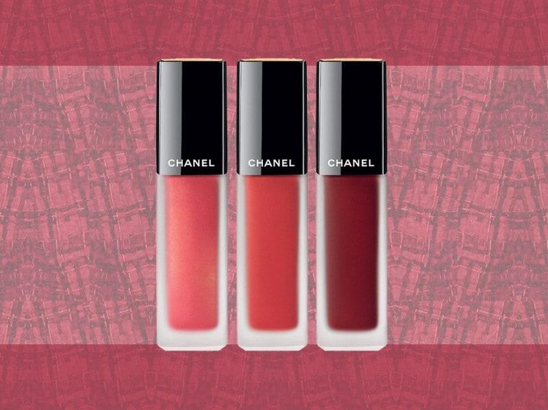 trucco rosso rossetti liquidi opachi chanel
