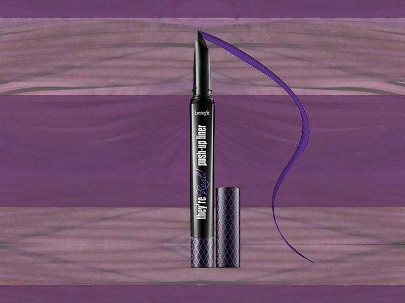 trucco viola eyeliner benefit