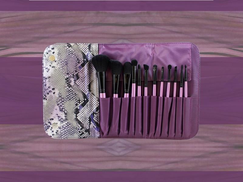 trucco viola morphe brushes pennelli trucco