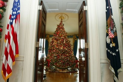 The First Lady Shows Off White House's Holiday Decor