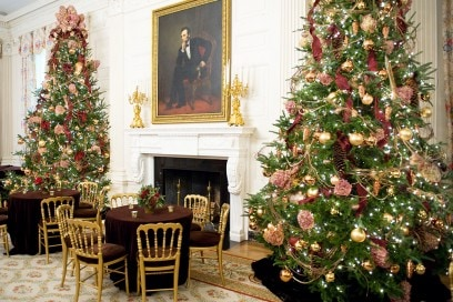 The State Dining Room of the White House