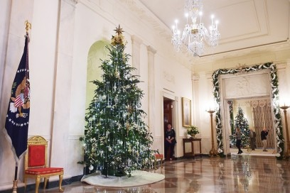 US-HOLIDAY-WHITE HOUSE-DECORATIONS