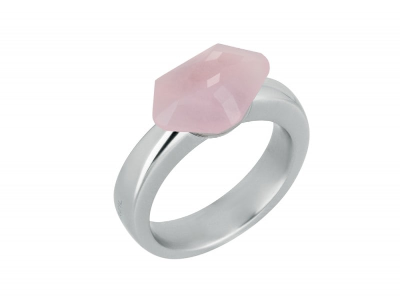Breil-Stones-anello-pietra-rosa
