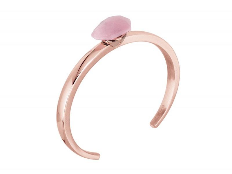 Breil-Stones-bracciale-pietra-rosa