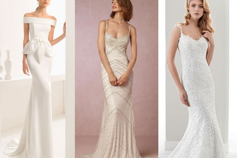 Gli abiti da sposa a sirena della PE 2017