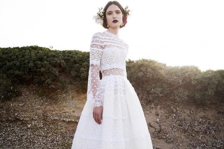 Gli abiti da sposa Costarellos per la Primavera 2017