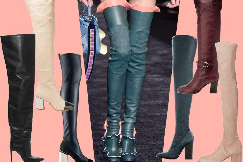 Stivali cuissardes: i modelli più glam di stagione