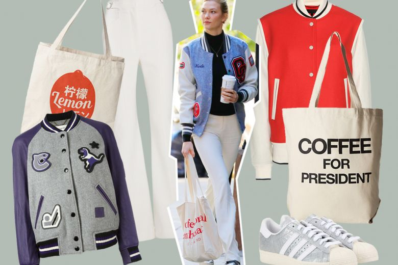 Il look sporty secondo Karlie Kloss, da copiare