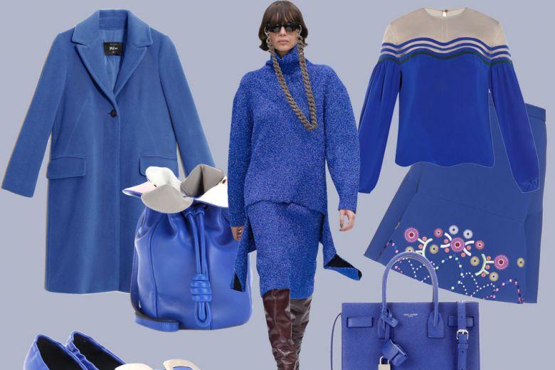 Tendenza blu cobalto: i capi e gli accessori must have