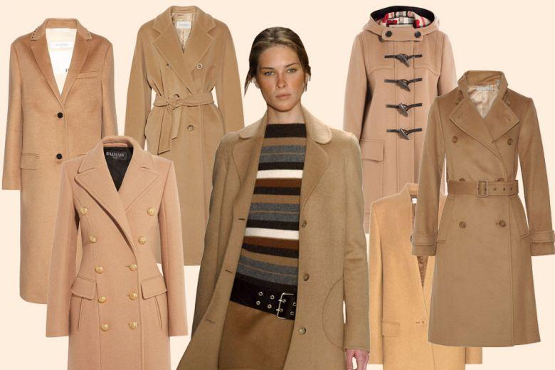 10 cappotti cammello per l'inverno 2016