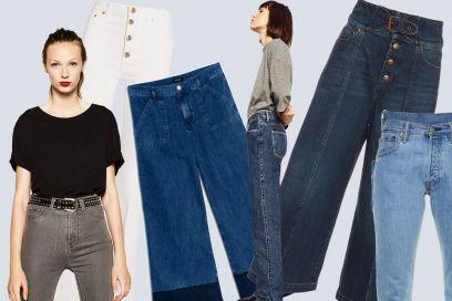 Jeans a vita alta: le versioni più cool dell'Autunno-Inverno 2016