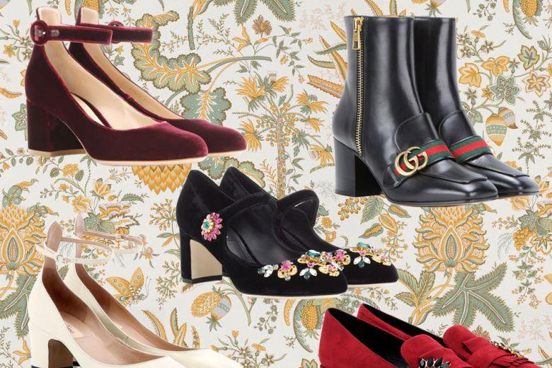 Le scarpe vintage per l'inverno 2016