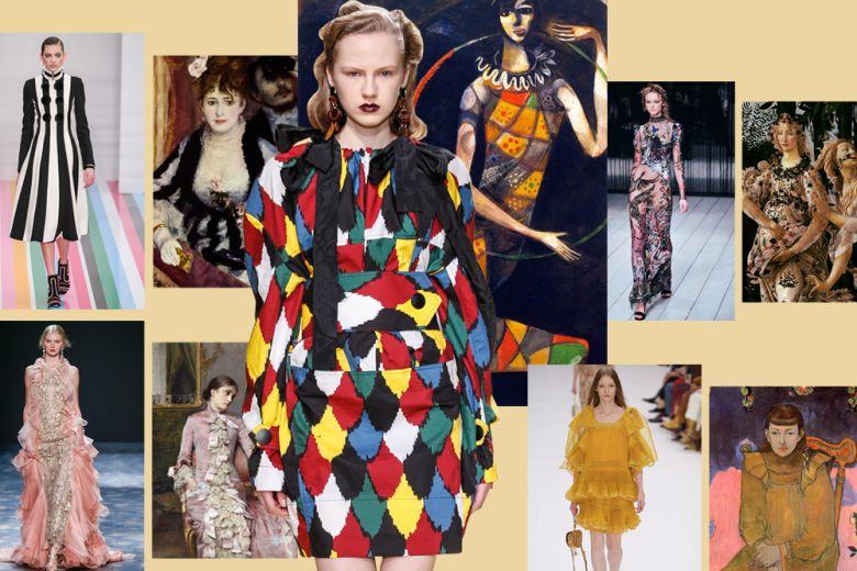Quando la moda somiglia ai quadri famosi